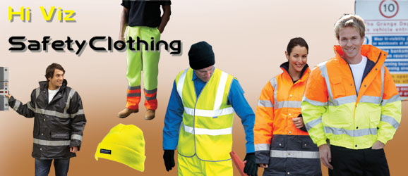 Safety clothing and high vis