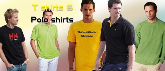 Workwear T Shirts and Polo Shirts