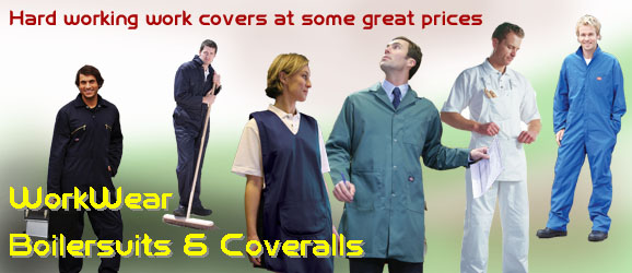 Workwear Boiler suits and coveralls